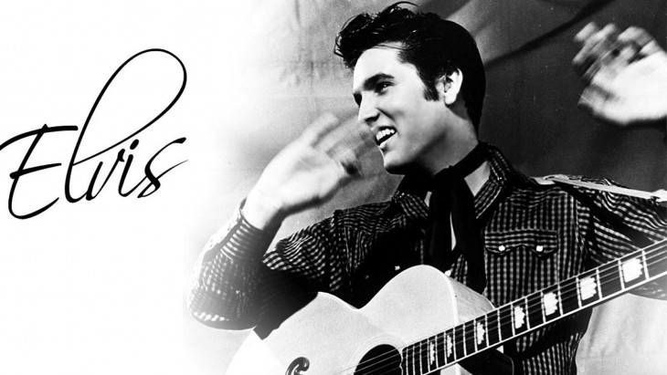 RETRATO DE Elvis Presley