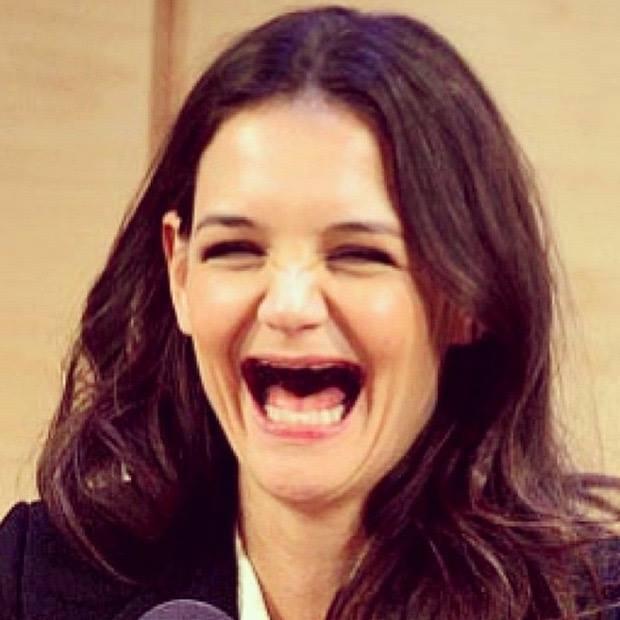 Katie sin dientes