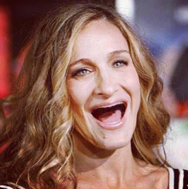 Sarah sin dientes