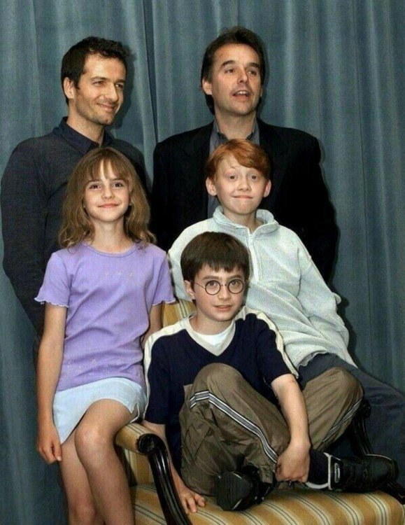 elenco de harry potter 2001