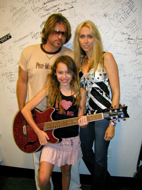 Miley Cyrus de 12 años