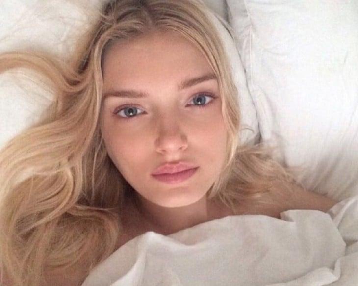 Lily Donaldson sin maquillaje