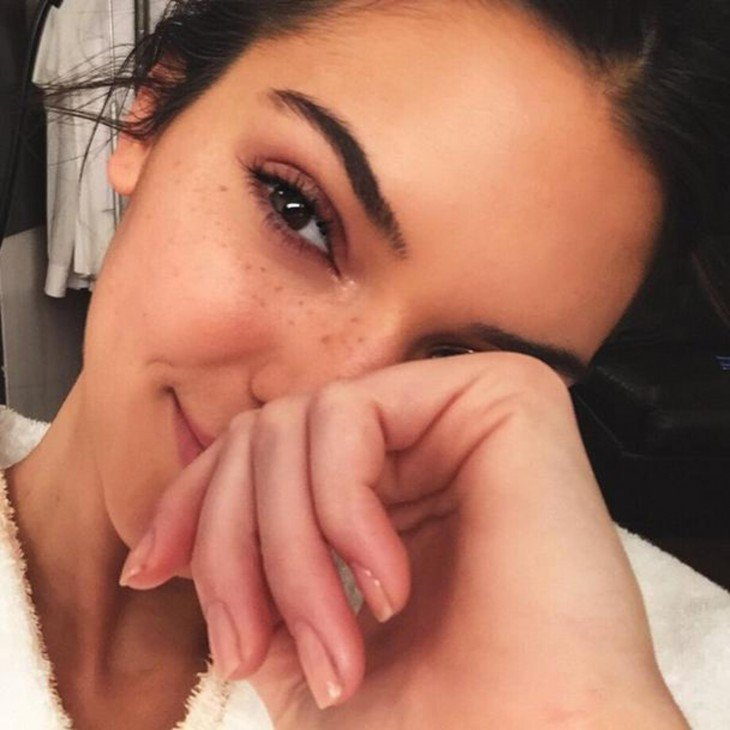Kendall jenner sin maquillaje