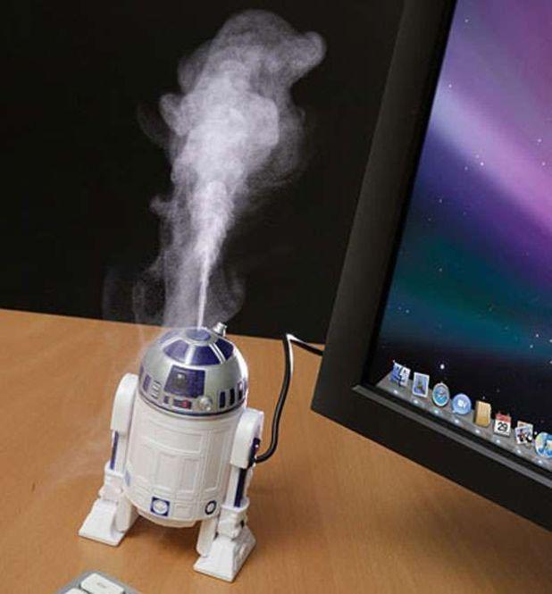 aromatizante en forma de R2D2 de Star Wars