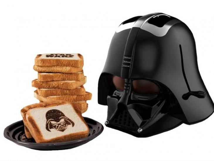 Tostadora en forma de Darth Vader