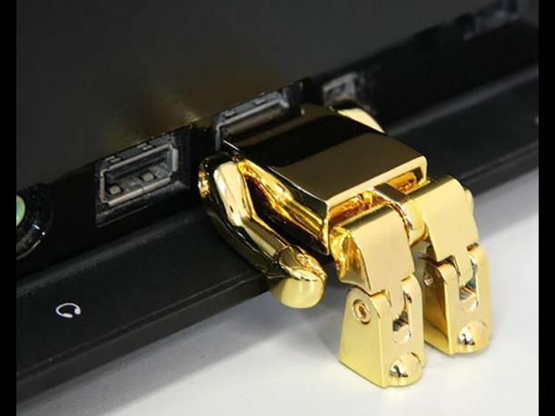 USB de la figura lego de C3PO
