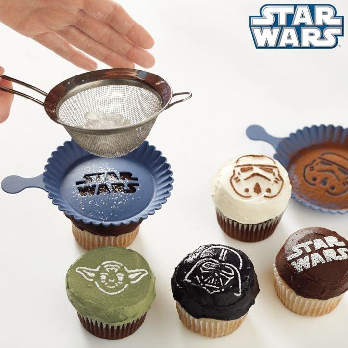 plantillas para cupcakes en formas de figuras de star wars