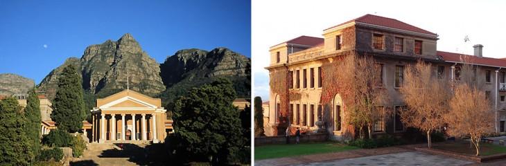 instalaciones de Universidad de Ciudad del Cabo