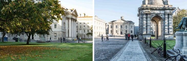 Φωτογραφίες από τις εγκαταστάσεις Τρινιντάντ College του Δουβλίνου
