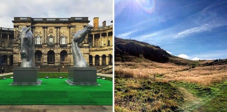 Φωτογραφίες από τις εγκαταστάσεις του Πανεπιστημίου του Εδιμβούργου