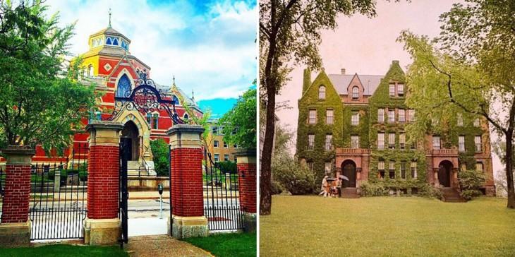 Οι εγκαταστάσεις στο Πανεπιστήμιο Brown