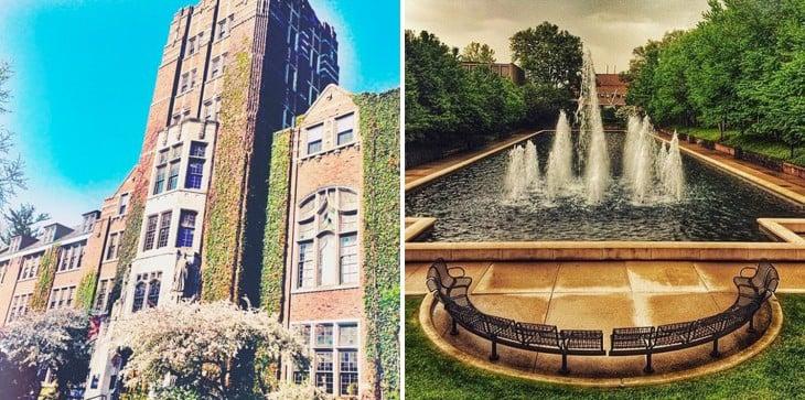 instalaciones de la Universidad de Michigan