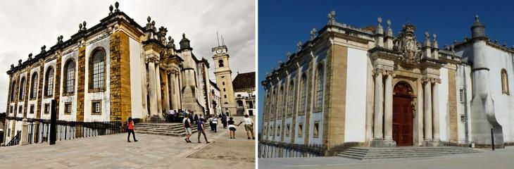 instalaciones de la Universidad de Coimbra
