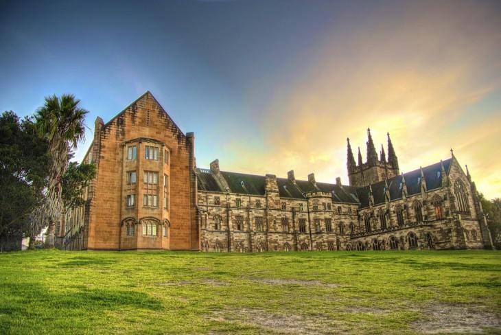instalaciones de la universidad Sydney