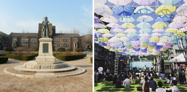 Instalaciones de la Universidad de Yonsei