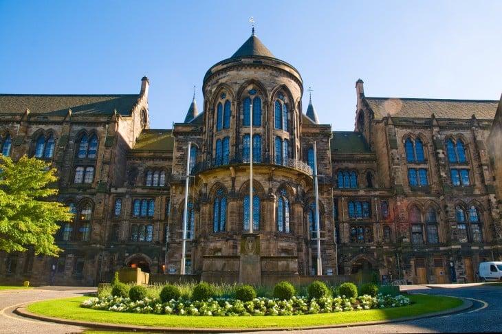 Universidad de Glasgow en Glasgow, Escocia