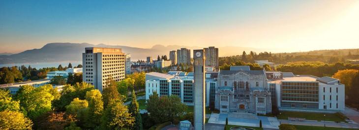 Πανεπιστήμιο της Βρετανικής Κολομβίας στο Βανκούβερ, Βρετανική Κολούμπια