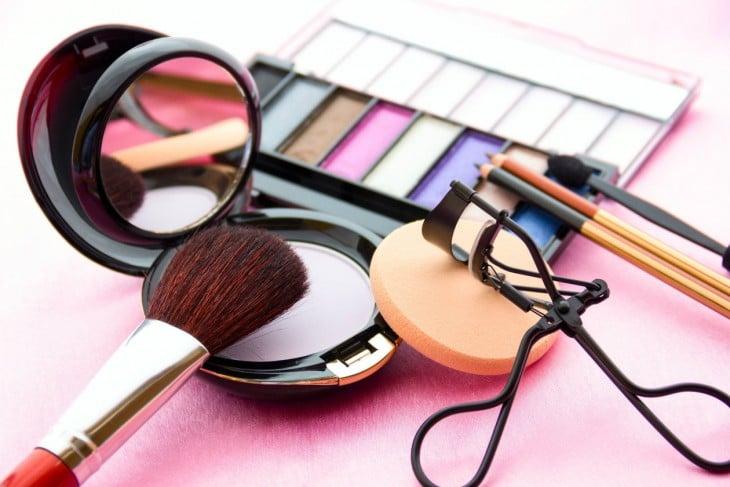acsesorios maquiagem das mulheres