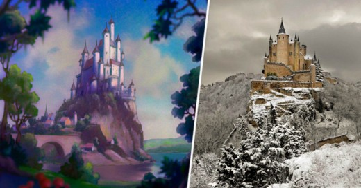 Conociendo algunas locaciones en donde Disney se inspiro para sus películas