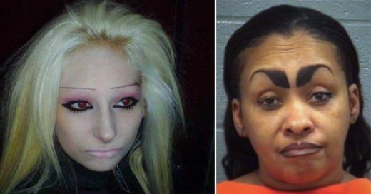 Estas personas no encontraron un mejor estilista tatuador de cejas