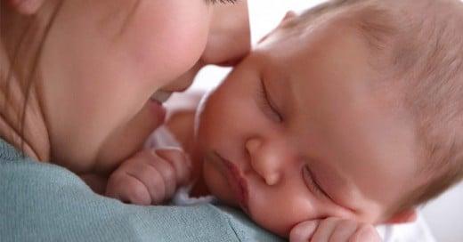 Un gran método para dormir a un bebe