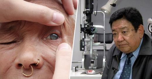 El oftanmólogo Sanduk Ruit, que con su innovadora técnica le ha devuelto la visión a más de 100 mil ojos en la India.