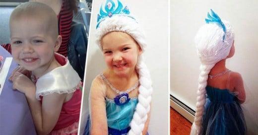 Holly Christensen Una enfermera con un gran corazón crea pelucas para niñas en tratamiento de cancer