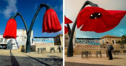 Una iniciativa de luminicentes urbans muy ecológicos y artísticos