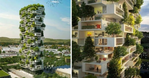 Stefano Boeri es un arquitecto italiano que tiene cierta afinidad por las estructuras ecológicas innovadoras