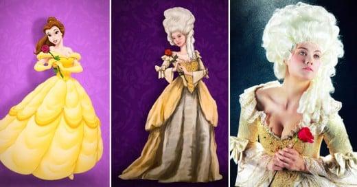 Esta sería la versión más cercana en tiempo y moda de cada princesa de Disney