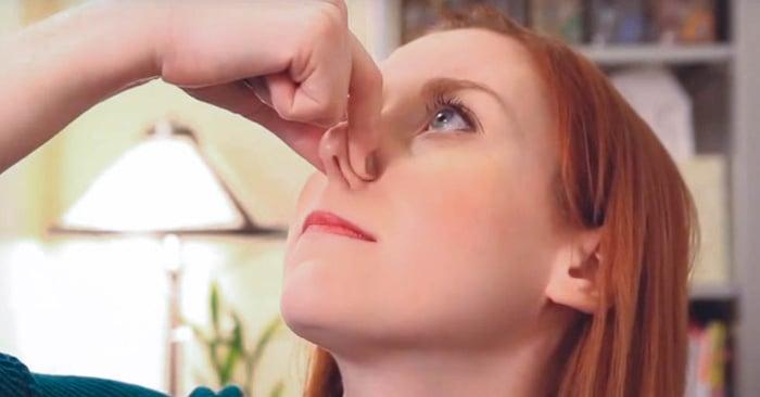 Como destapar una nariz muy tapada