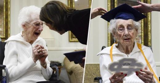 Margaret Thome Bekema logra graduarse a sus 97 años de vida, todo un ejemplo a seguir