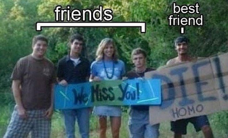 cuando te das cuenta quien es tu mejor amigo