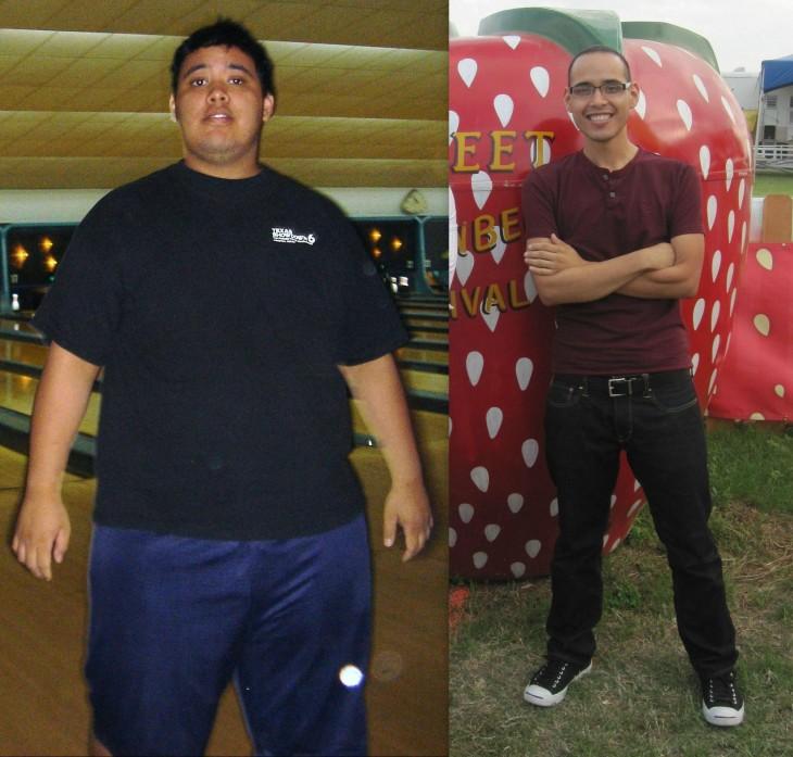 ejemplos de superación ante la obesidad