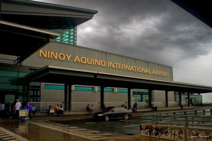 Aeropuerto Internacional Ninoy Aquino (NAIA) en Manila, Filipinas