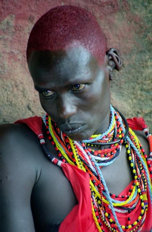 Chico guerrero Masai