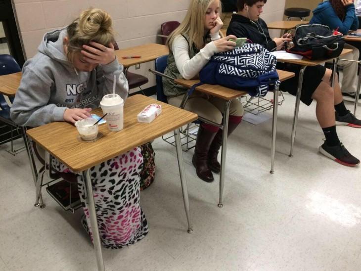 la diferencia de mujeres friolentas en la escuela