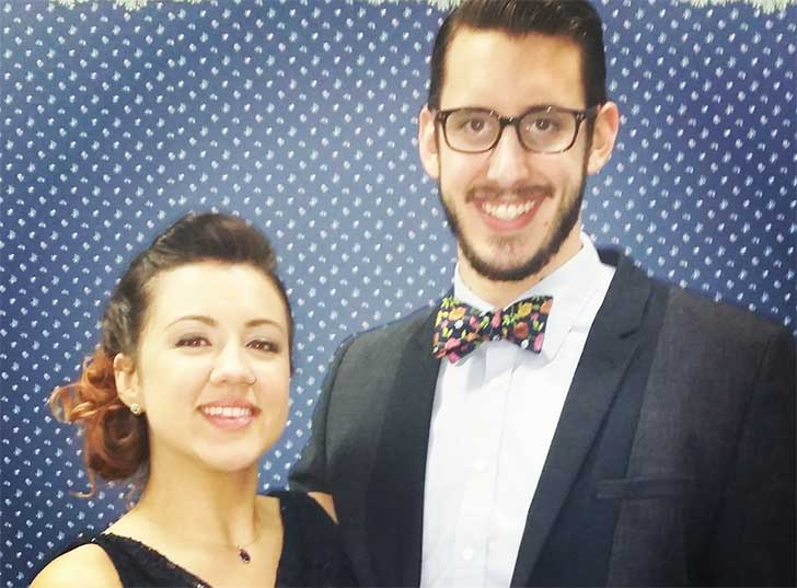pareja de esposo Steven Nelms y Gloria