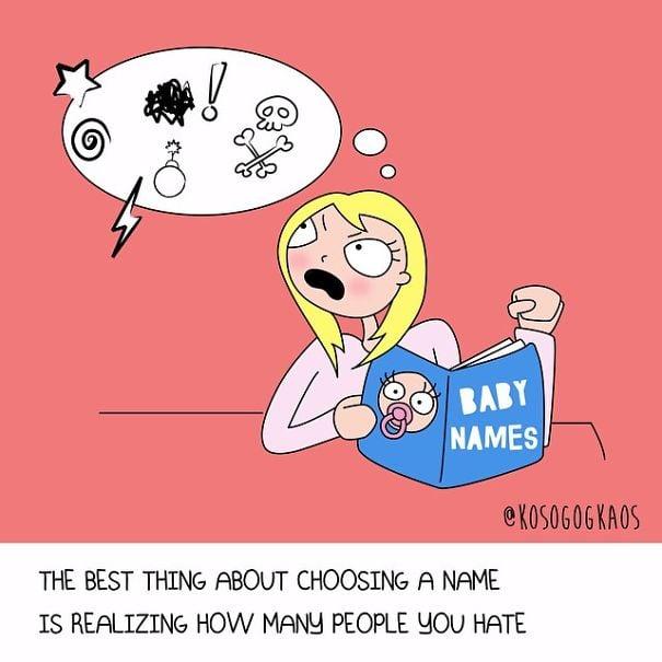 Ilustraciones que slo las embarazadas entendern