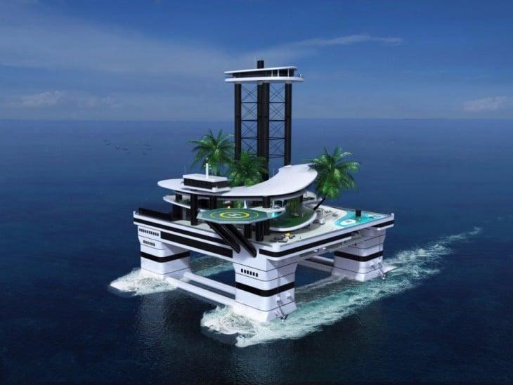 Kokomo Island, el proyecto de la isla flotante móvil