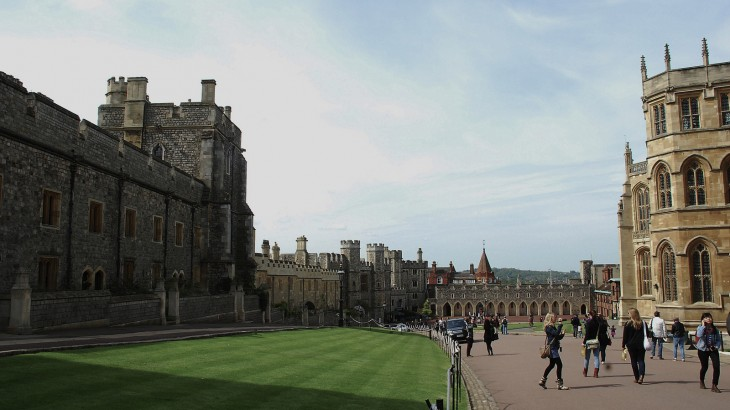 Castillo de Windson en el Reino Unido