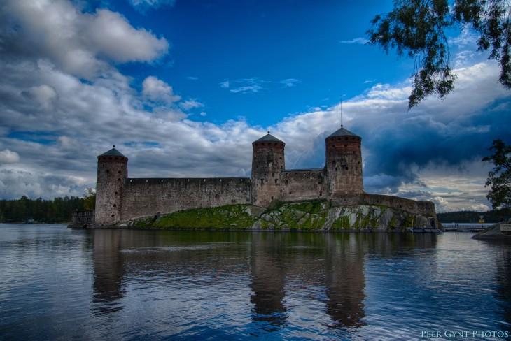 Castillo Olavinlinna, Finlandia