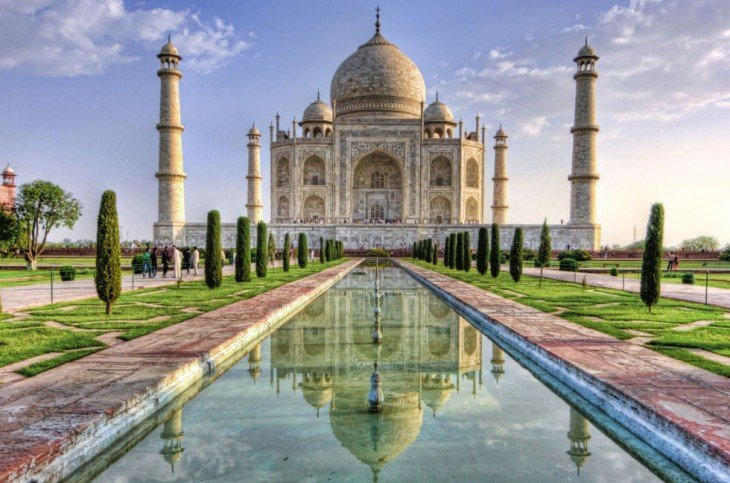 Taj Mahal en Agra, India