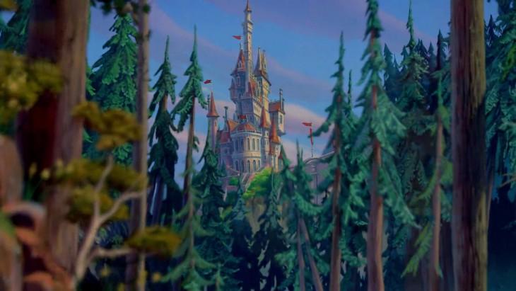 Castillo de la película La Bella y la Bestia