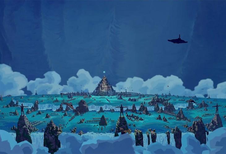 La ciudad de Atlantis el imperio perdido