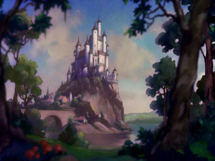Castillo de la Reina de Blancanieves