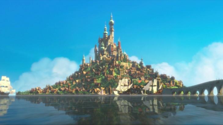 El Reino de Corona en la película Enredados