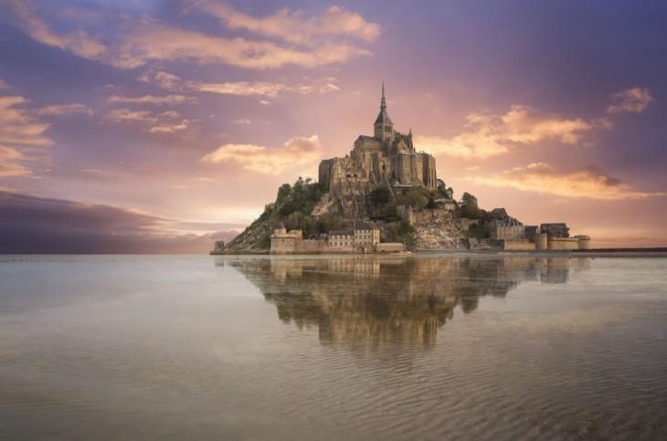 Mont Saint, en Normandía, Francia