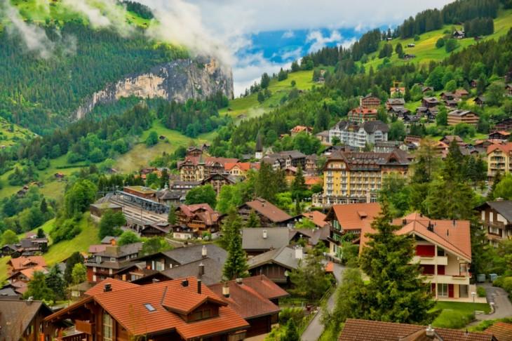 Wengen en Suiza