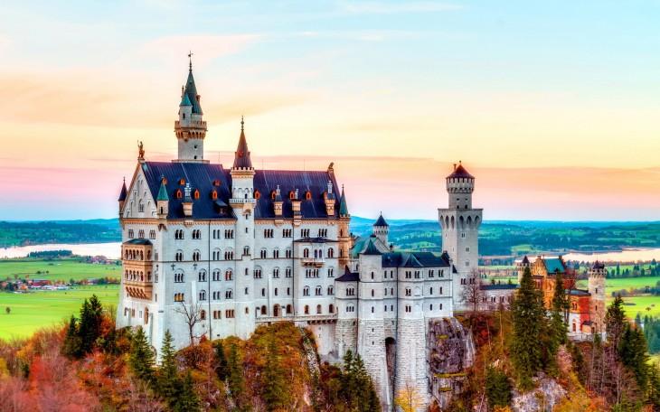 Castillo de Neuschwanstein en Alemania